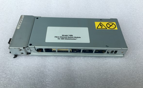 HS20 Blade Center 26R0881 26R0888 6 +14 Port 4Gb Fiber Switch Module Tested Well