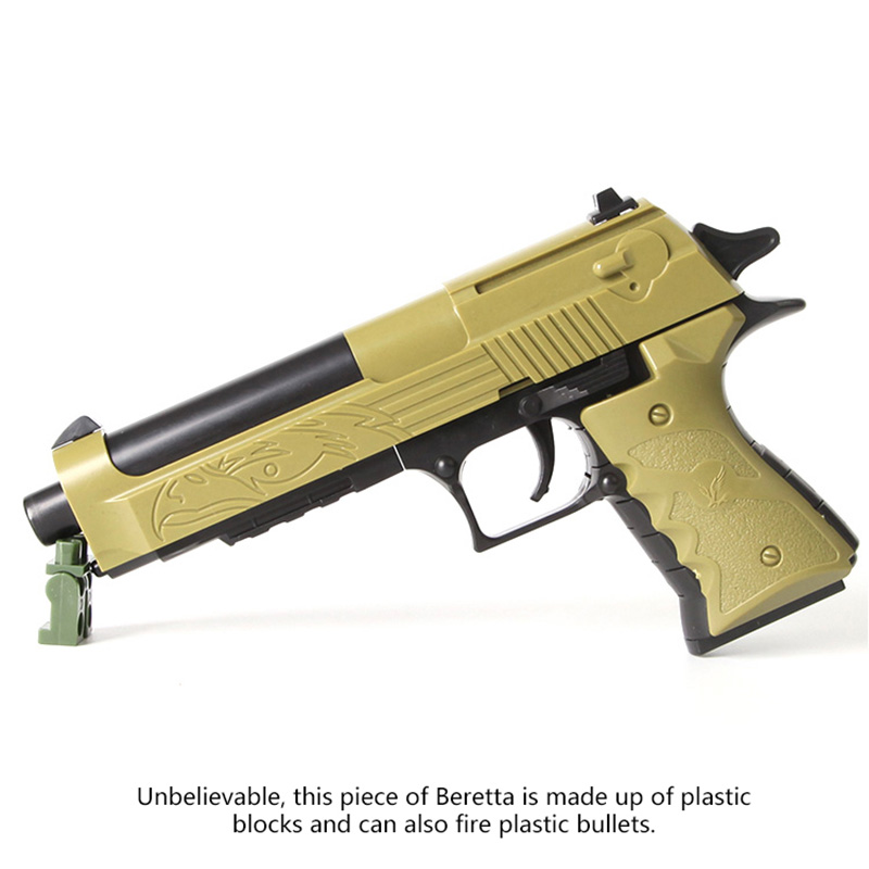 Plastic Safe Orbeez Gun Weapon Pistol Gunshot Kid Boys Gift Outdoor Game Toy For Children 17cm the grand duelist fiora qian ad yasuo twistfate game character weapon model toy kid gift collection decoration very cool pj