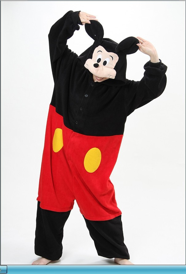 01d39c455c7a New Arrival Fleece Adults Animal Pajamas Pyjama Anime Cartoon Cosplay  Costumes Unisex Adult Onesies Mickey Minnie Mouse