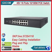 16 puertos POE Switch con 16 puertos POE de alimentación a la cámara ip, wireless ap, teléfono ip