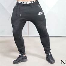 2016 Brand New Gold Medal Fitness Casual Elastic Pants Stretch Cotton Men's Pants Body Engineers Jogger Bodybuilding