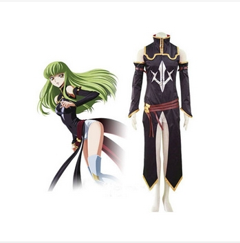 Anime Code Geass C.C. Cosplay Costume Custom Made