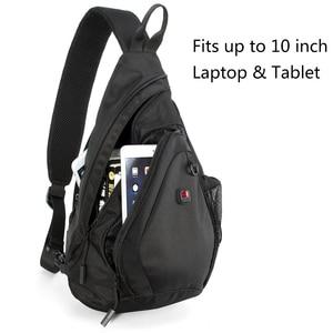 Image 2 - BALANG Messenger Bag Men Nylon Multipurpose Chest Pack Sling Shoulder Bags for Men Casual Crossbody Bolsas 2020 New Fashion