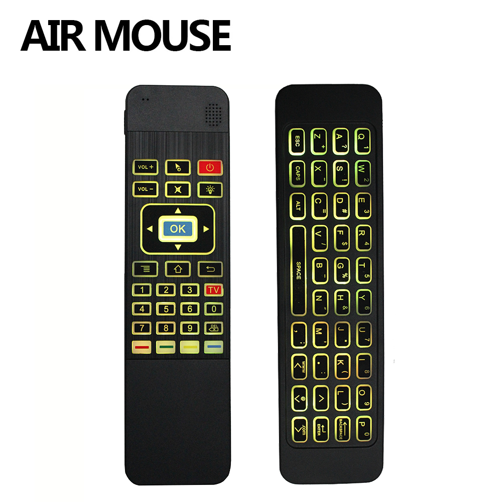 T3 Air Mouse Mini Wireless Keyboard 2.4GHz Remote Control for Android TV Box for Smart TV Android TV box mini PC HTPC black 2016 new rii k18 large size 2 4ghz wireless multimedia mini keyboard touchpad air mouse for pc smart tv htpc iptv android box