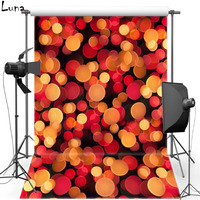 MEHOFOTO Red Shimmer Vinyl Photography Background For Wedding New Fabric Flannel Background For Children Photo Studio 2293