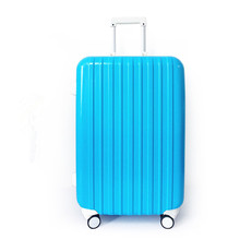 20 24 28 inch Aluminum frame Boarding Trolley spinner ABS+PC material Polychromatic suitcase luggage for business and travelling
