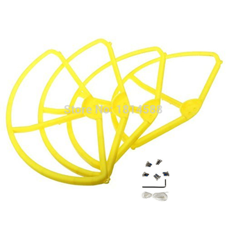 DJI Phantom 3 aerial four axis aircraft blade propeller protection ring cover WLtoys V303 color protection ring parts