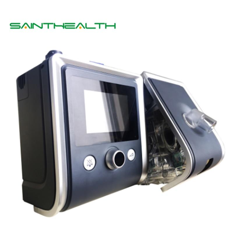GII BPAP T-20S Portable Accueil Pratique CPAP Machine pour Sommeil Ronflement Apnée avec SPO2 Kit Médical De Massage Respiration machine