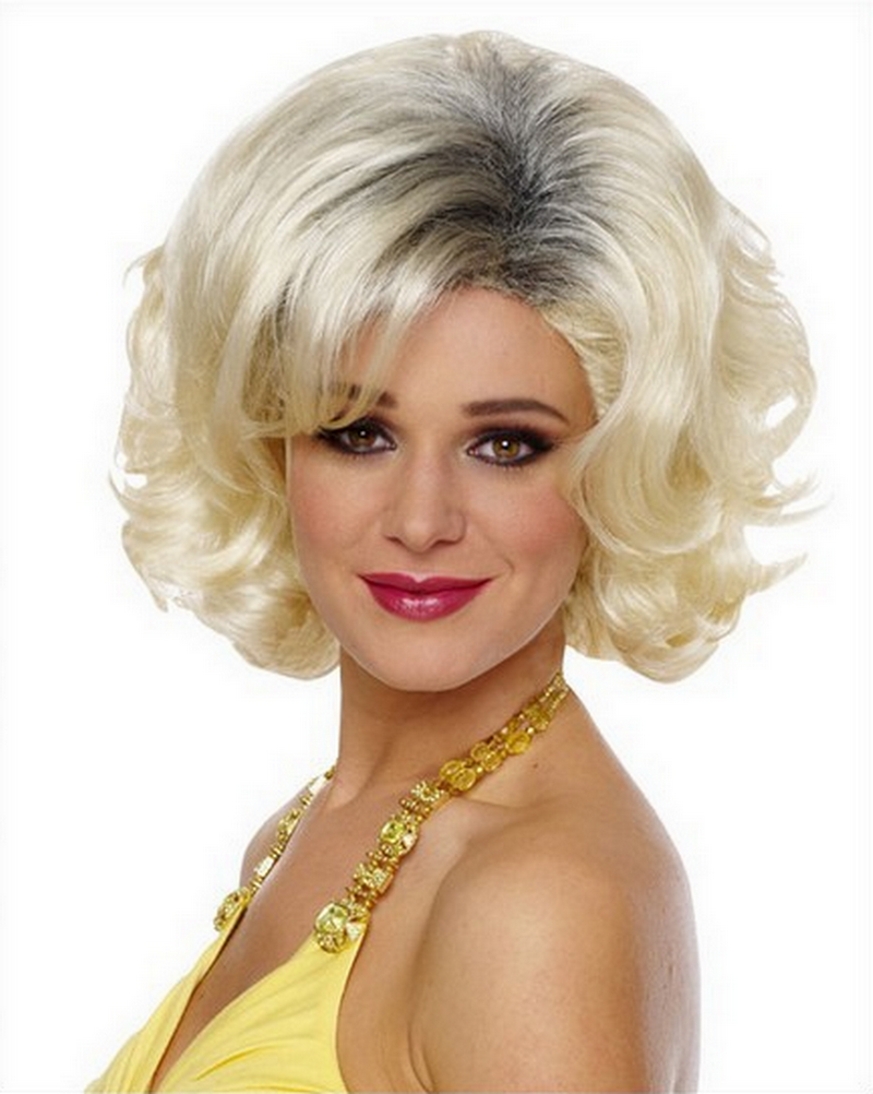 Blonde Wig With Roots 19