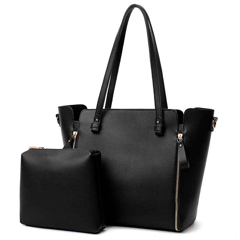 Large Capacity Shoulder Bags for Women Casual Tote Bag Designer Women Leather Handbags Set Bags Sac a Main Femme Bolsos Mujer weiju new canvas women handbag large capacity casual tote bag women men shoulder bag messenger crossbody bags sac a main