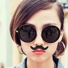 12pcs/set Costume Party Halloween Fake Mustache Funny Beard Whisker