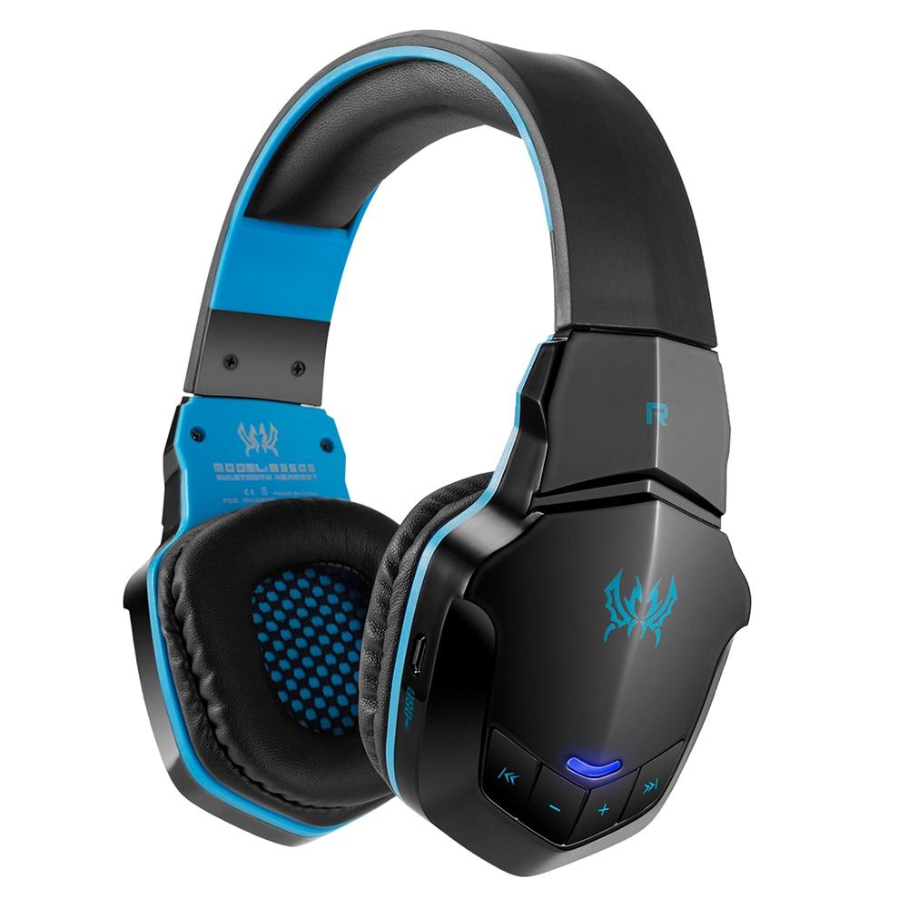 KOTION EACH B3505 Wireless Bluetooth Headphones Headband Gaming Headset W/ Microphone BT4.1 Stereo Earphones For iPhone Xiaomi m 6 bluetooth v3 0 stereo headset w microphone for iphone black