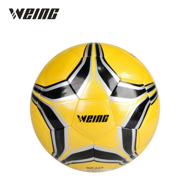 Weing 2018 Official Size 5 Football Ball PU Granule Slip-resistant Seamless Match Training Soccer Ball