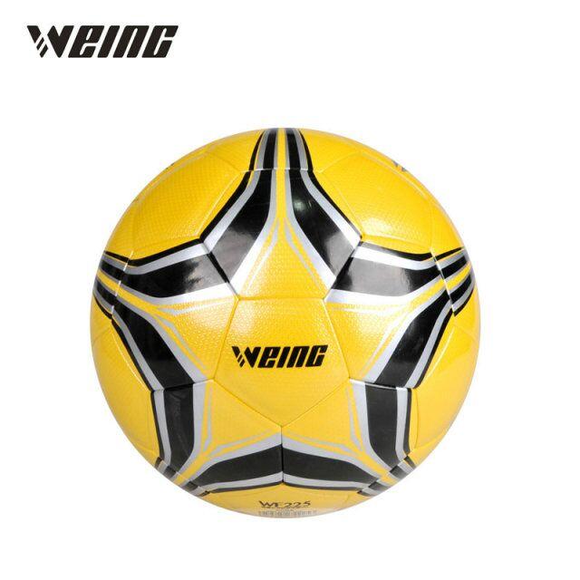 Weing 2018 Official Size 5 font b Football b font Ball PU Granule Slip resistant Seamless