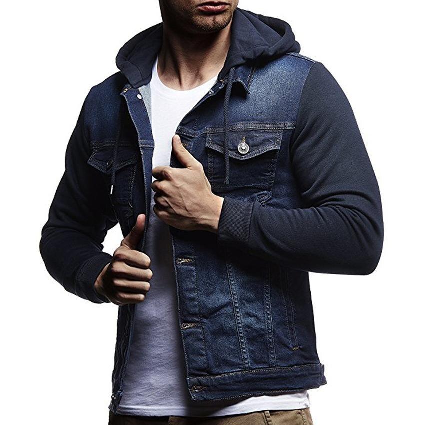 Mode hommes Denim veste manteau Cowboy coton simple boutonnage vestes décontracté printemps mâle manteau Slim mâle Hipster veste vêtements