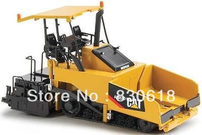Norscot Caterpillar AP655D Paver with Canopy 55258 1:50 NEW toy norscot 1 50 siecast model caterpillar cat ap655d asphalt paver 55227 construction vehicles toy