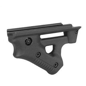 Image 4 - Taktische CS spiel Dreieck kampf Grip Nylon Daumen Airsoft Grip Für 21mm 22mm Breite Schiene schwarz Spielzeug Pistole jagd Zubehör