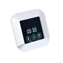 Touch Screen Food Thermometer Digital Oven Thermometer Kitchen Food Probe Thermometer With Timer And Alarm Cooking Tool