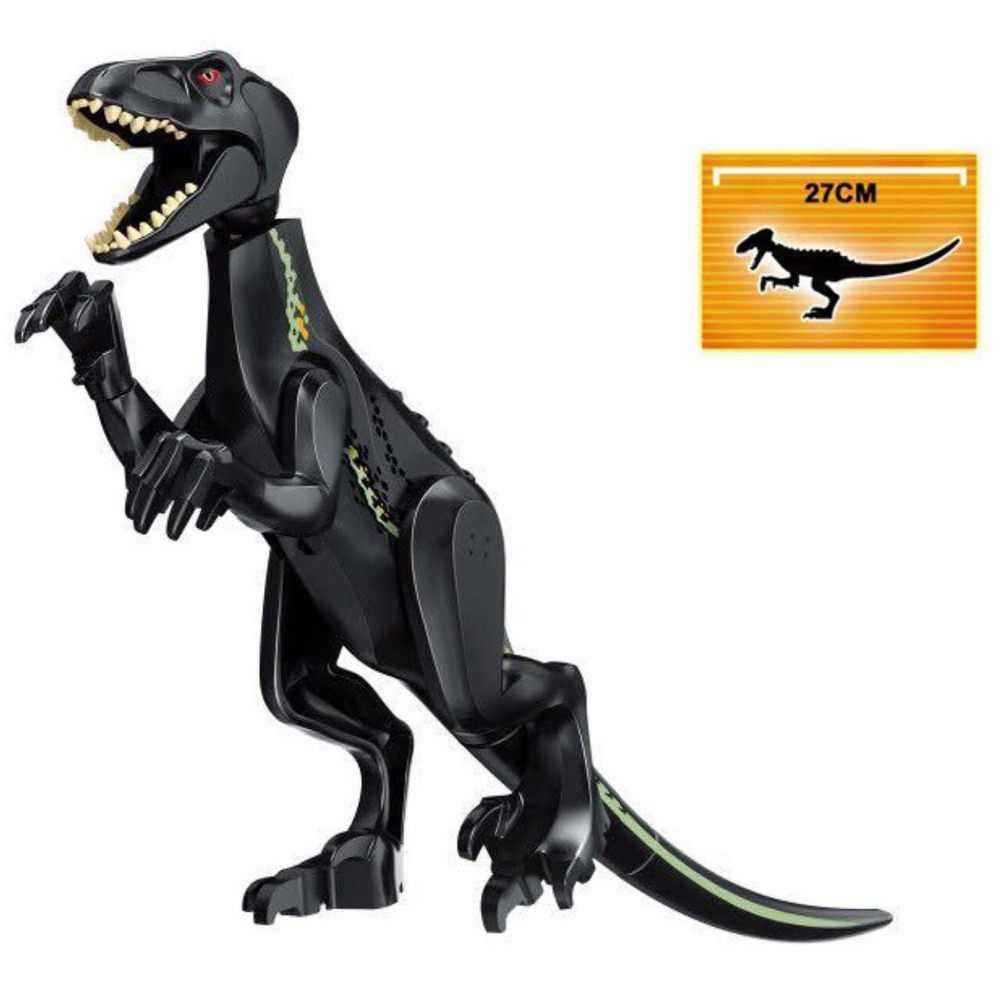 الجوراسي العالم 2 اللبنات الديناصورات أرقام الطوب الديناصور ريكس Indominus I-ريكس تجميع لعب الاطفال