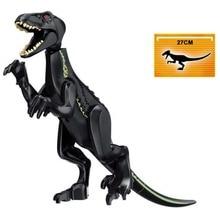 Jurassic World 2 Building Blocks Dinosaurs Figures Bricks Tyrannosaurus Rex Indominus I-Rex Assemble Kids Toys