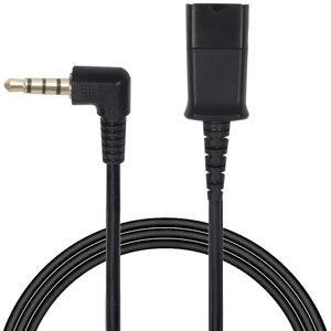 Image 1 - ชุดหูฟัง QD ถอดสายเคเบิลที่มีปลั๊ก 3.5 มม. สำหรับโทรศัพท์สมาร์ทโฟน, คอมพิวเตอร์, แล็ปท็อปฯลฯ
