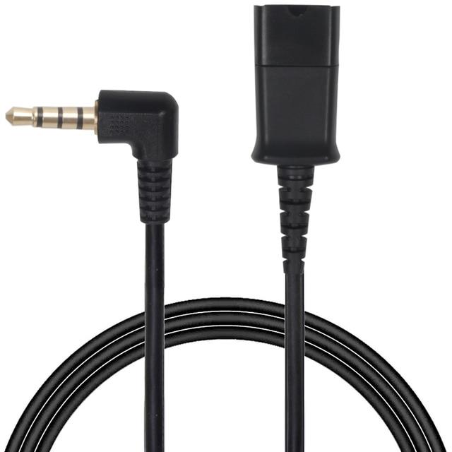 ชุดหูฟัง QD ถอดสายเคเบิลที่มีปลั๊ก 3.5 มม. สำหรับโทรศัพท์สมาร์ทโฟน, คอมพิวเตอร์, แล็ปท็อปฯลฯ