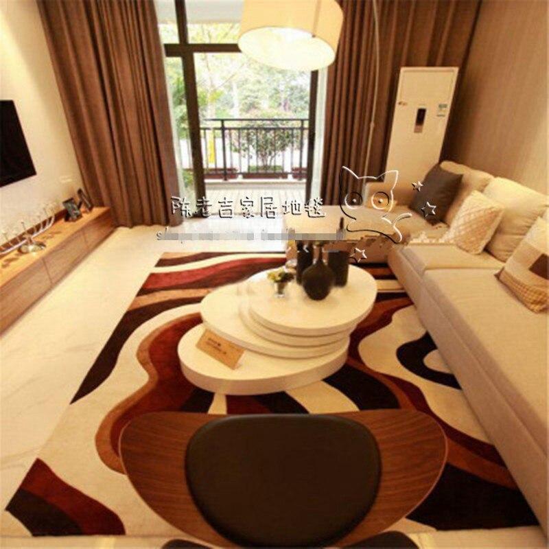 Nouveauté abstrait acrylique chambre tapis et tapis Bape tapis Bape tapis tapis de bain Huarache fait à la main tapis personnalisés