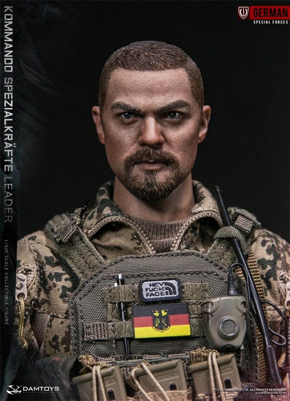 1//6 KSK Kommando Spezialkräfte leader ALLEMAND action figure 78054 DAMTOYS