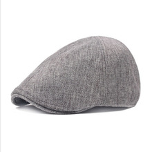 Vintage Berets Unisex Solid Cabbie Hats Hip Hop Fashion British Style Newsboy Hat Flat Boina For Men And Women fashionable solid color double deck pu cabbie hat for men