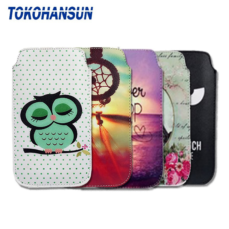 Case Cover For ZTE Prestige 2 N9136 Prelude Plus Z851 Overture 3 Z851M Midnight Pro LTE PU Leather Pouch Universal Phone Bag