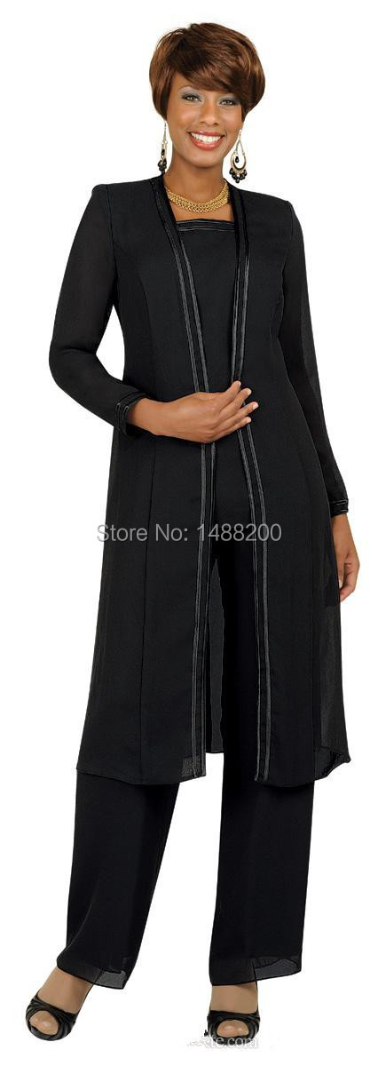 Aliexpress.com : Buy Custom Made Mother of the Bride Pant Suits ...