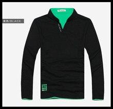 2014 Popular Tsenka Official Original Full Sleeve Men POLO Shirt,Turn-down Collar men Band Autumn Clothes Slim Fit