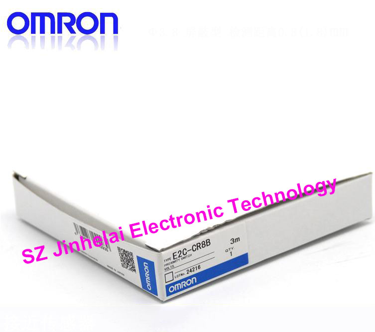 100% New and original OMRON Proximity switch E2C-CR8B 3M [zob] 100% new original omron omron proximity switch tl g3d 3 factory outlets