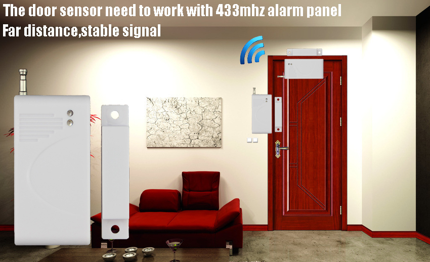 Wireless Door magnetic sensor - realspygadgets.com