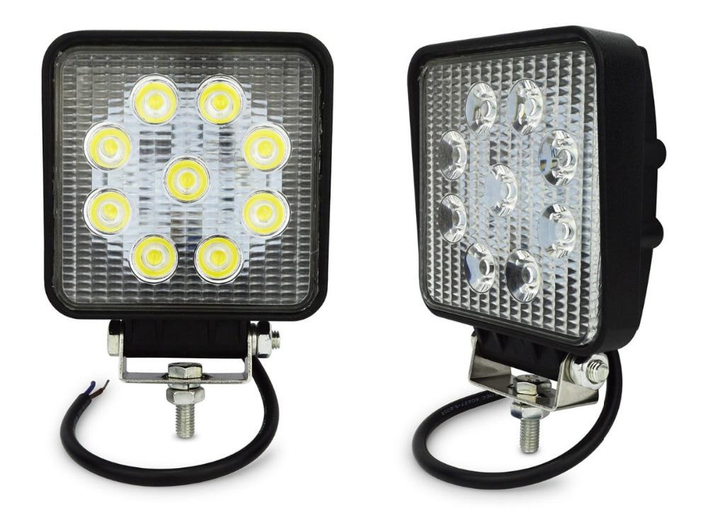 27w Led Work Light : Pcs w led work light degree high power