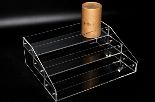 2 sets 10.5*25*40cm Acrylic cosmetics display box showing stand rack candy collection box holder rack