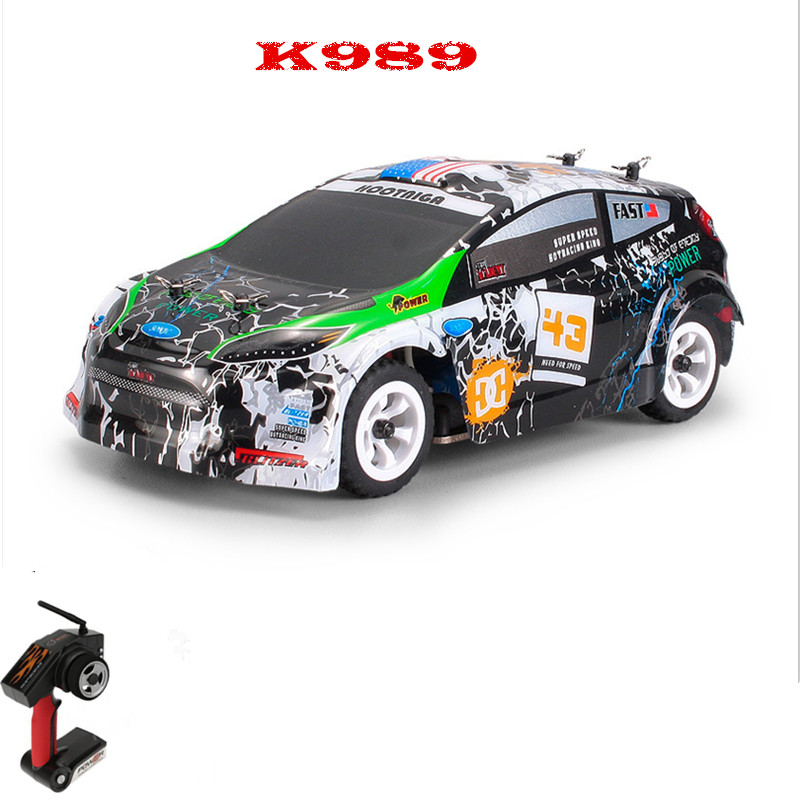 K989 Remote Control Four-Wheel Drive RC Car Electric Toys Mini Size car 1:28 full-scale high-speed off-road Vehicles youdi 2 4g remote sensing four aircraft genuine four rotor helicopter toys wholesale shatterproof