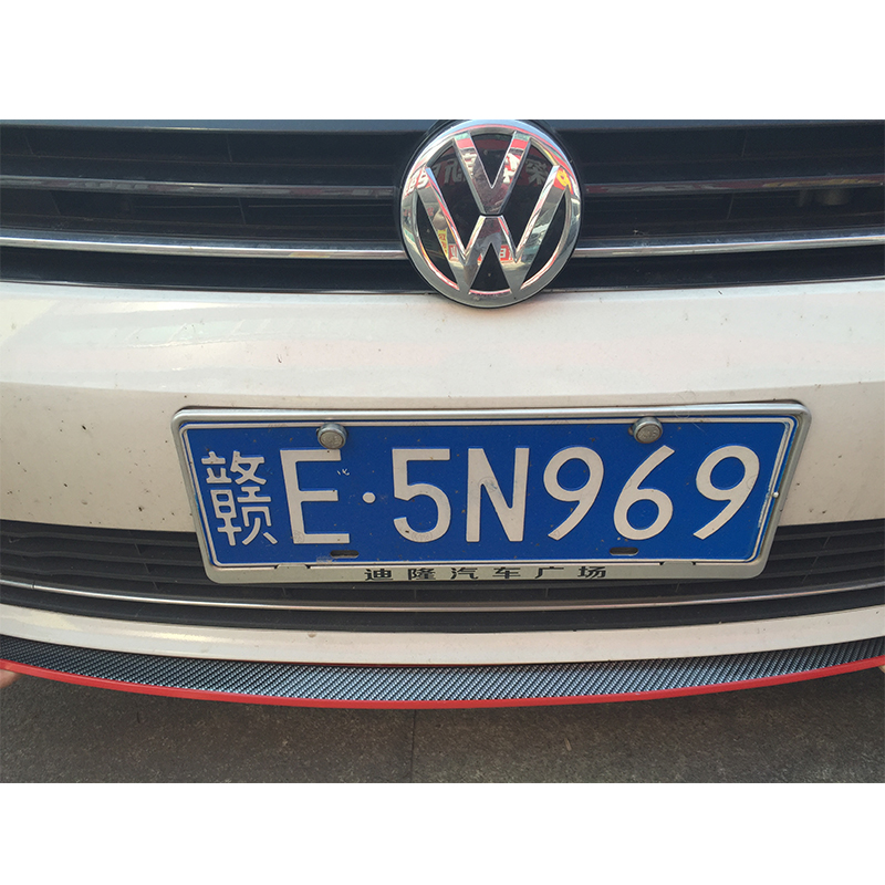 Exterior Front Bumper Lip Kit / Car bumper Strip For volkswagen VW polo passat golf 4 5 7