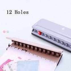T Paddestoel Gat Ronde Gat multifunctionele Ponsmachine Disc Dinding Losbladige Puncher Verstelbare Punch boek Perfurador de P