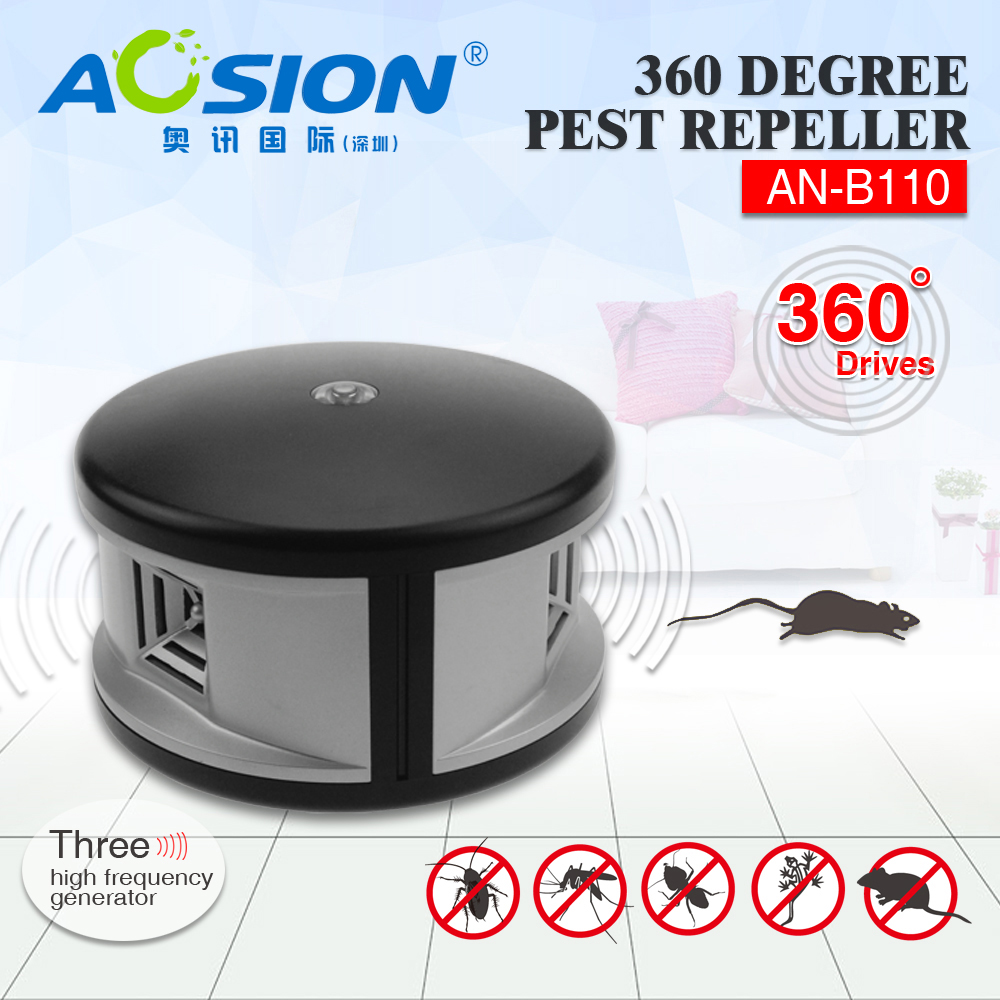 Aosion Ultrasonic Mouse Rat Repellent 360 Degree To Repel Pests Like Thdogrepellentelectroniccircuitsjpg Rodentbugscockroachesspider Etc In Repellents From Home Garden On