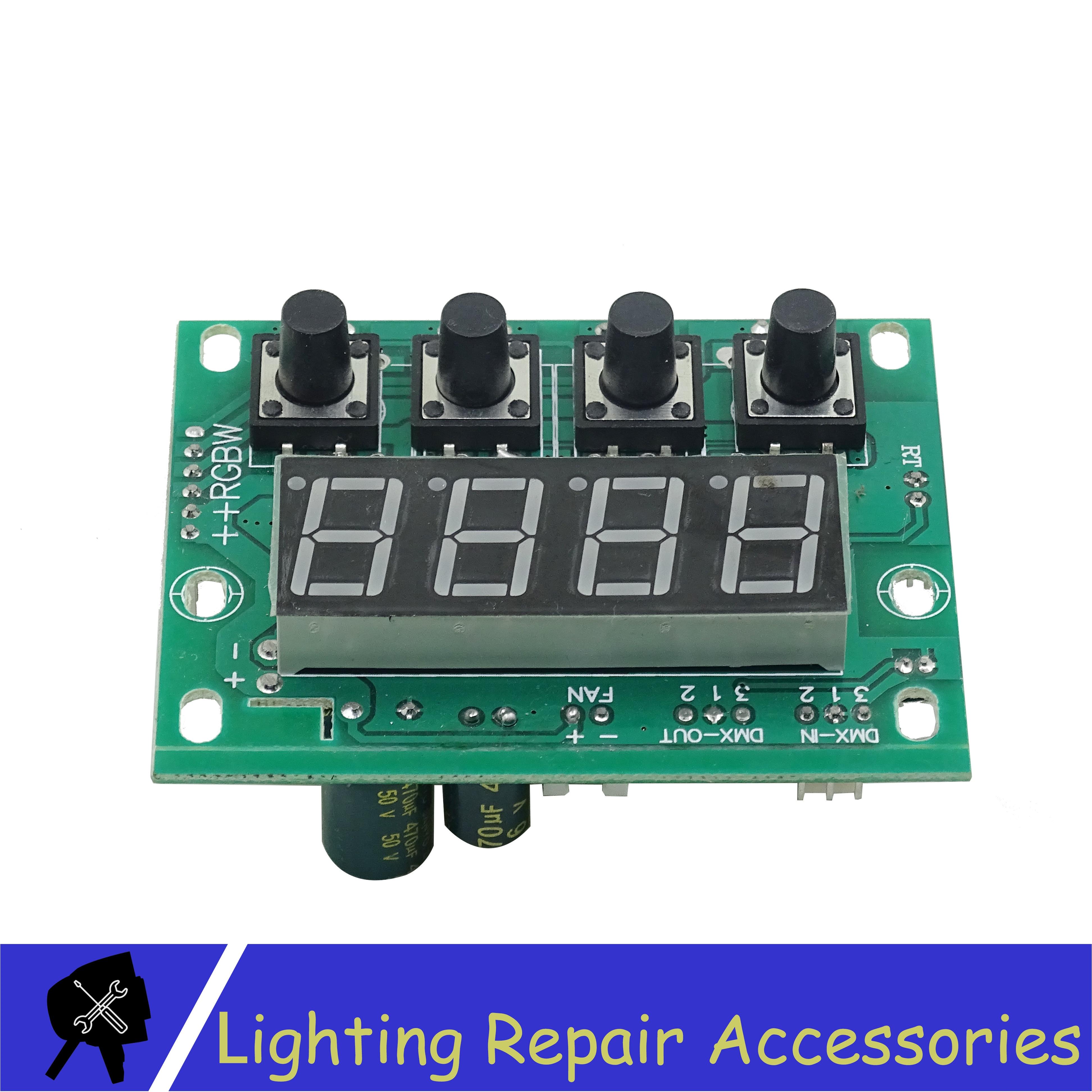 Led Par Light Motherboard For 54x3w 54x9w 24x9w 18x9w RGW 3in1 COB Led Stage Light Waterproof IP65 Or IP33 Repair Spare Parts