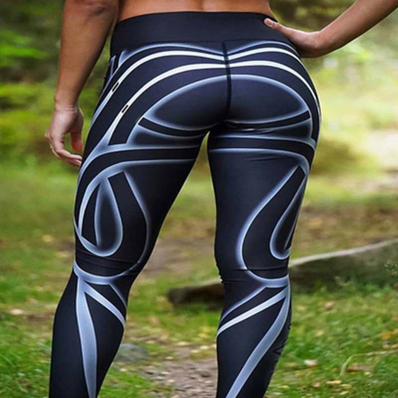 Hayoha Streamer Women   Leggings   Digital Printing - Fitness   Leggings   For Women Hip High Waist   Leggings