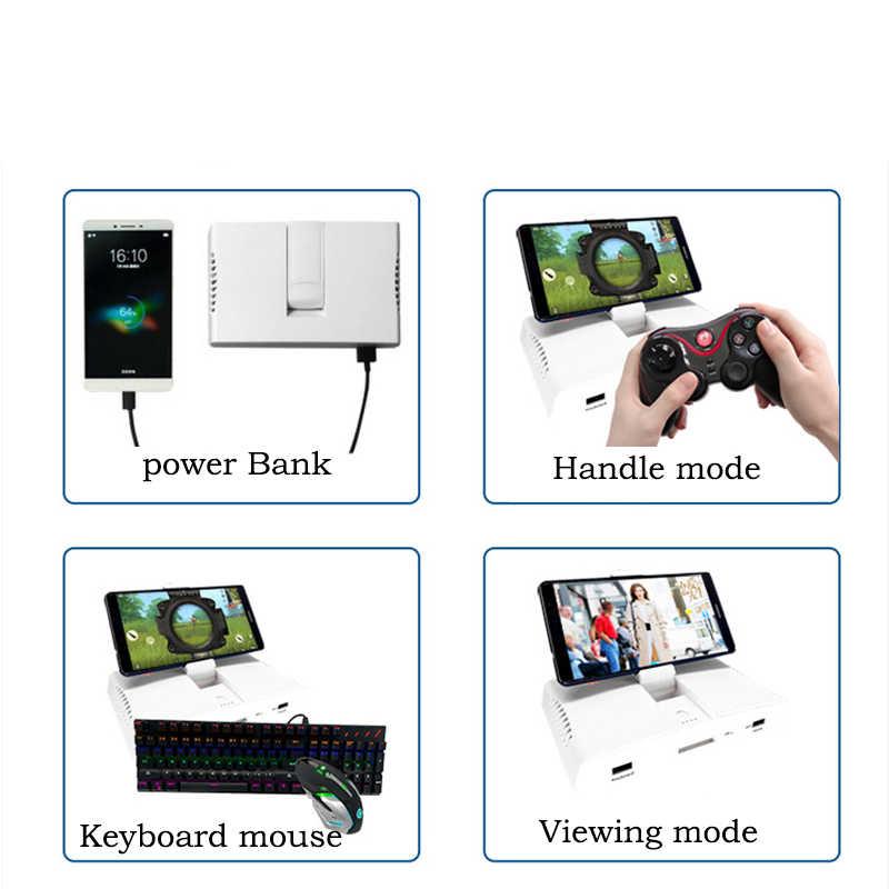 Конвертер клавиатуры и мыши для PUBG Мобильные игры, AoV, мобильные легенды, RoS, ножи, бесплатный огонь Шутер-контроллер Мобильные игры Ешьте куриные игрушки Pubg mobile