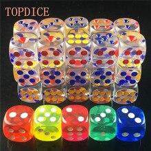[topdice] романтика rpg game цветной cube любовь кости ясно небольшой взрослых