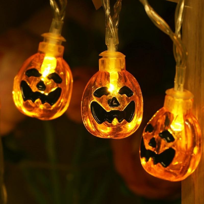 Halloween Party 5M 28led String Light Pumpkin Hanging Decorative/ Led String Light For Party /holiday Decoration