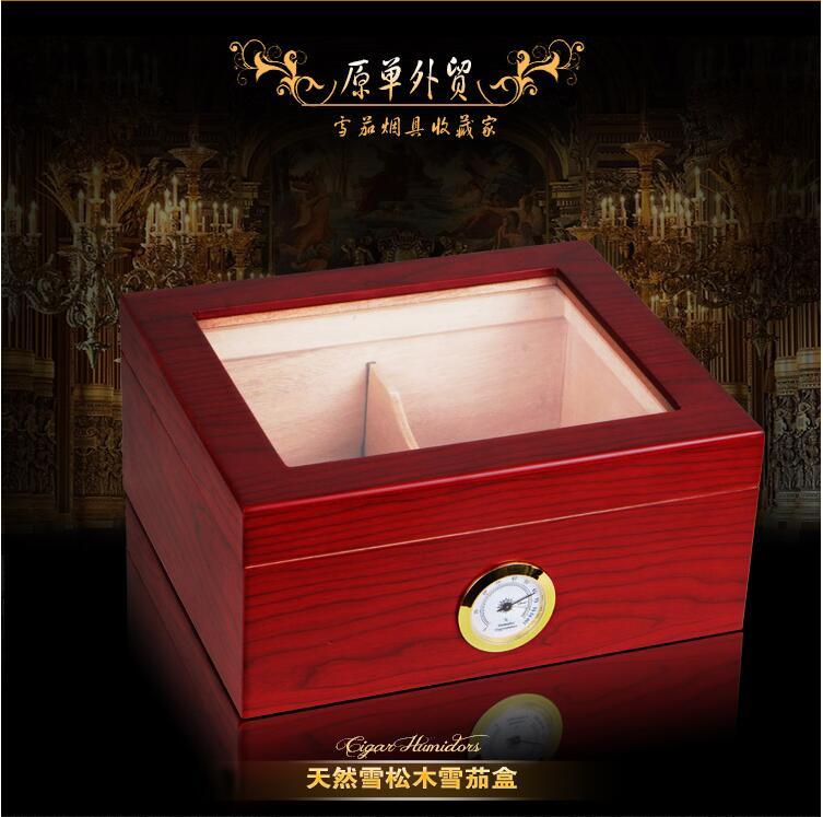 fashion original cedar wood structure cigar storage box cigar box cigar case for men gift organizador