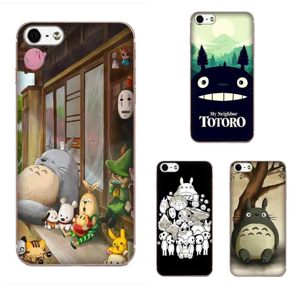 My Neighbor Totoro Studio Ghibli Diy Painted Phone Accessories Case For Xiaomi Redmi Mi Note 7 8 9 SE Pro Lite Go Play