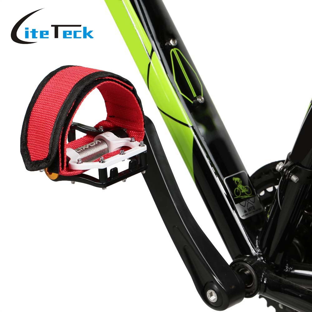 1pc Nylon Bicycle Pedal Straps Belt Fixed Gear Bike   Tape Cycling Fixie CoverFF