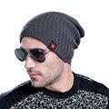 Мужчины Зимняя Шапка Шапочка Gorro Gorros Ланы Gorras Casquette Chapeu Cap Skullies Шапочки Masculino Toca Шляпы Теплый Капот W0