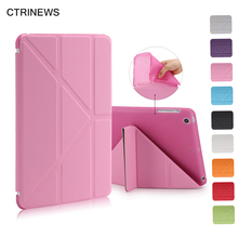 Computer Office - Tablet Accessories - CTRINEWS Smart Tablet Case For IPad Mini 2 3 Flip Leather Cover For IPad Mini 3 Soft Silicone TPU Back Case Auto Wake Up/Sleep